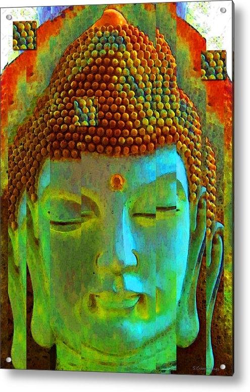 Sharon Cummings - Finding Buddha - Meditati... Print