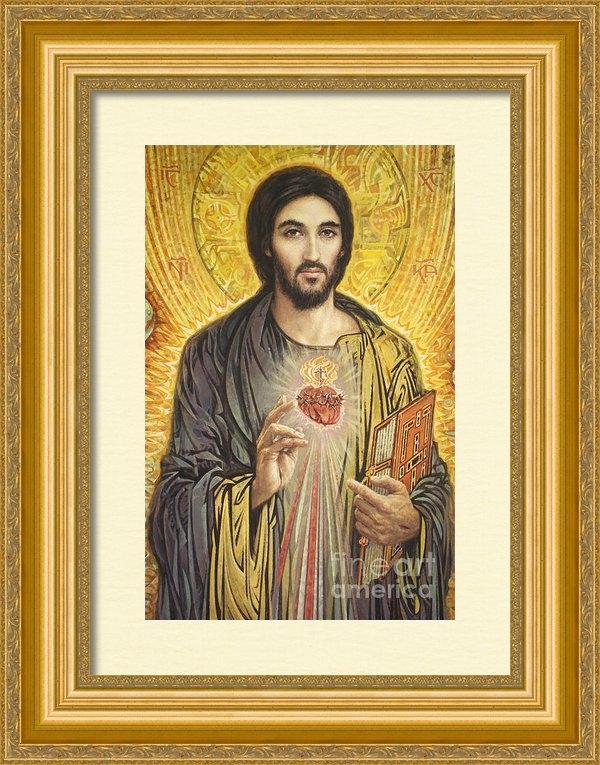 Smith Catholic Art - Sacred Heart of Jesus olm... Print
