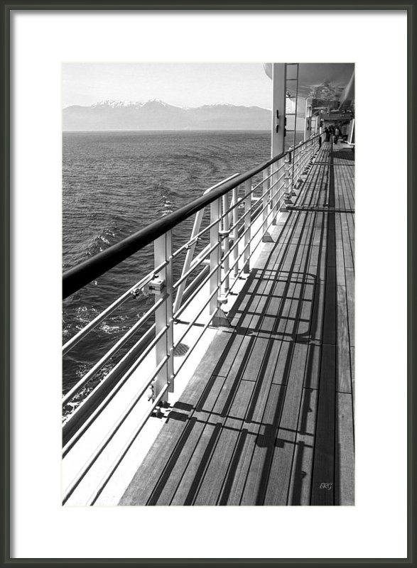Ben and Raisa Gertsberg - On The Cruise Ship Deck B... Print