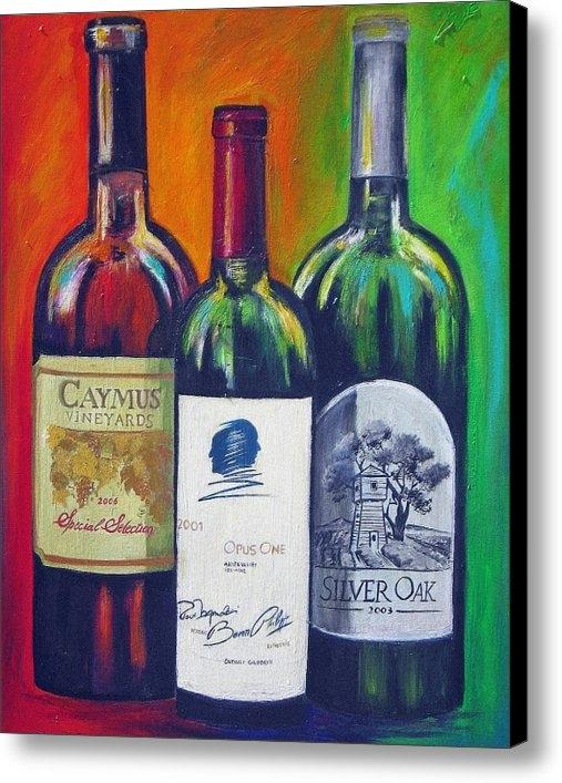 Sheri  Chakamian - Opus One Caymus and  Silv... Print
