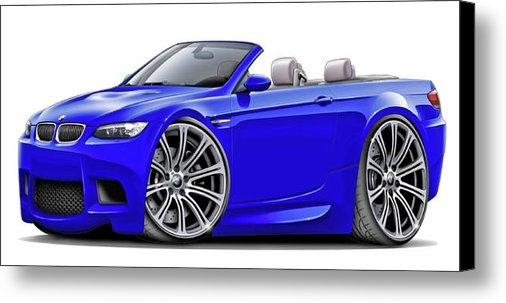 Maddmax - 2008-11 BMW e93 M3 Blue C... Print