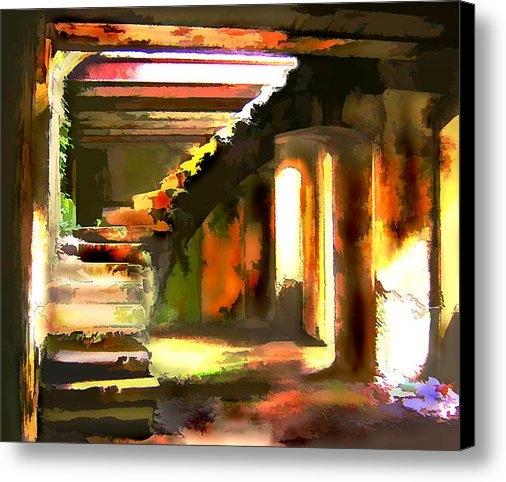 Elaine Plesser - Abandoned Basement Print