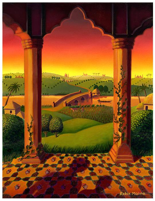 Robin Moline - India Landscape Print