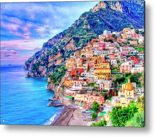 Dominic Piperata - Amalfi Coast at Positano Print