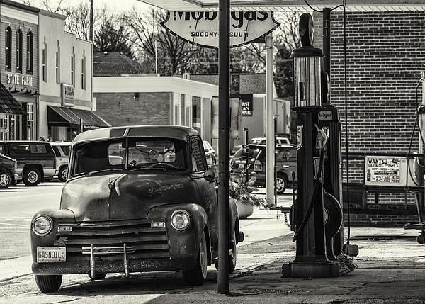 Jayme Spoolstra - Gas-N-Oil Print