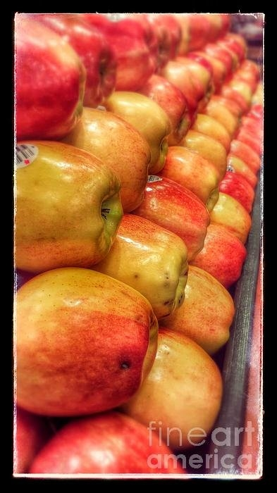 Anthony Smith - Apple Market One Print
