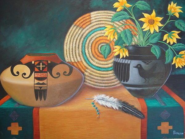 Sharon Teal Coray - Spirit Feather Print