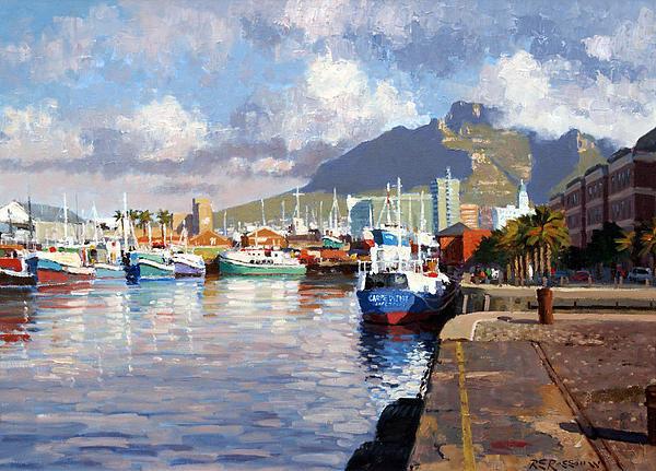 Roelof Rossouw - Visual Delight Cape Town Print