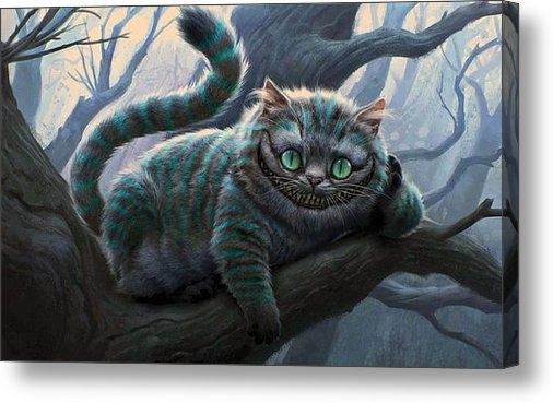 Movie Poster Prints - Cheshire Cat Print