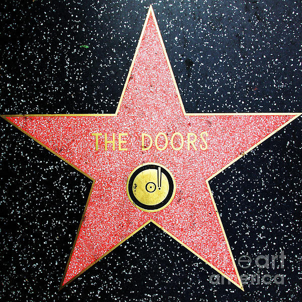 Wingsdomain Art and Photography - Hollywood Walk of Fame Th... Print