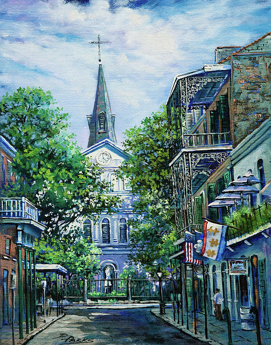 Dianne Parks - Cathedral at Orleans Print