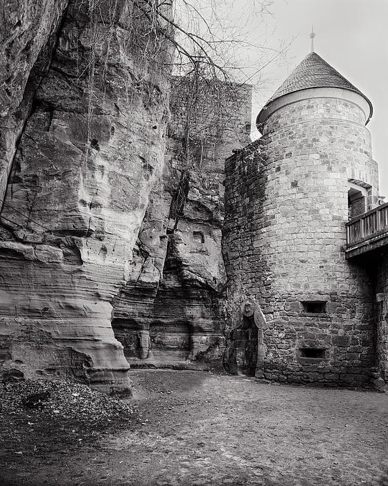 J Riley Stewart - Nanstein Castle Defensive... Print