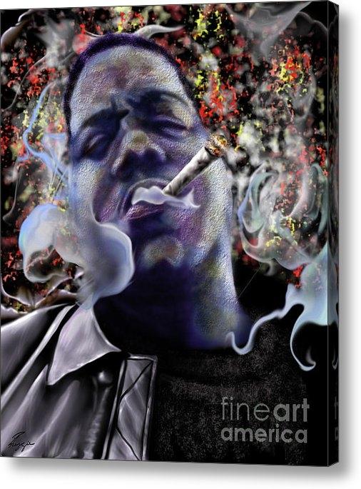 Reggie Duffie - Biggie - Burning Lights 5 Print