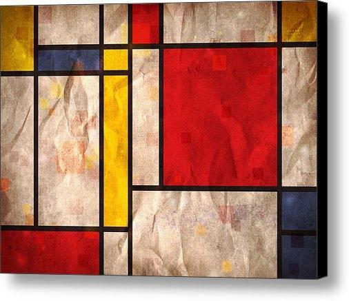 Michael Tompsett - Mondrian Inspired Print