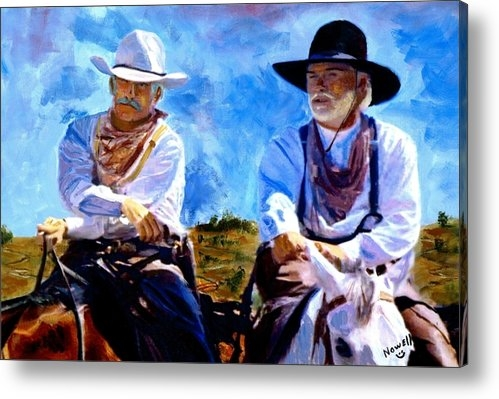 Peter Nowell - Leaving Lonesome Dove Print