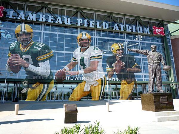 Joe Hamilton - Green Bay Packers Lambeau... Print