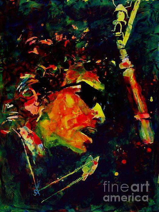 Linda Halom - Dylan Print