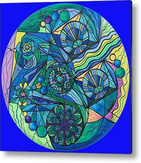 Teal Eye  Print Store - Arcturian Immunity Grid Print