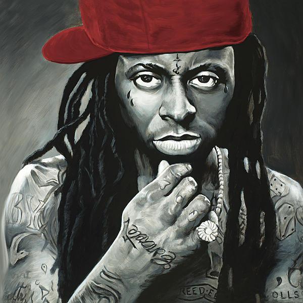 Travis Knight - Lil Wayne Print
