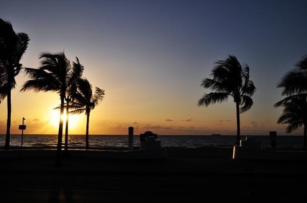 Kelly Wade - Fort Lauderdale Beach Sun... Print