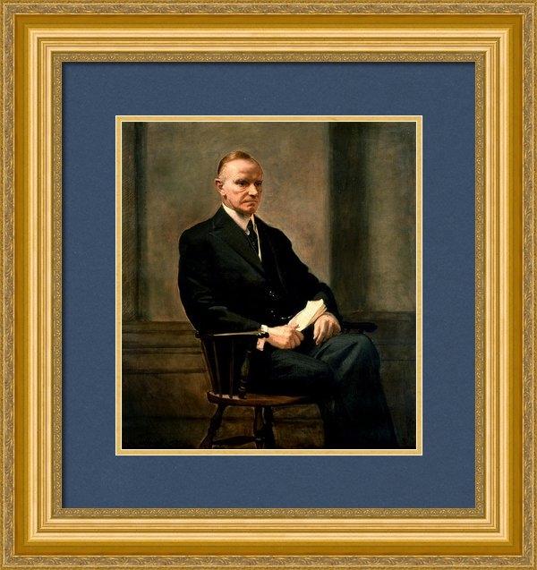 MotionAge Designs - Calvin Coolidge President... Print