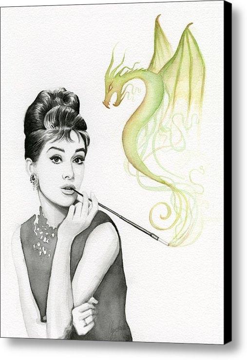Olga Shvartsur - Audrey and Her Magic Drag... Print