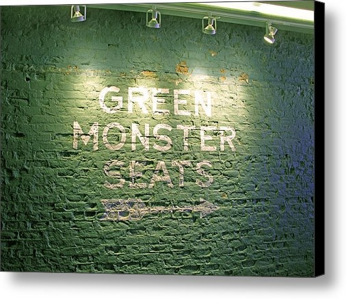 Barbara McDevitt - To the Green Monster Seat... Print