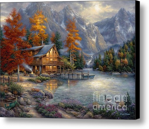 Chuck Pinson - Space for Reflection Print