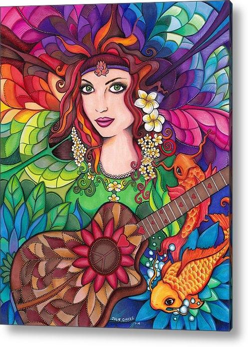 Julie Oakes - Bella Guitar Print