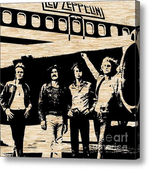 Marvin Blaine - Led Zeppelin Print