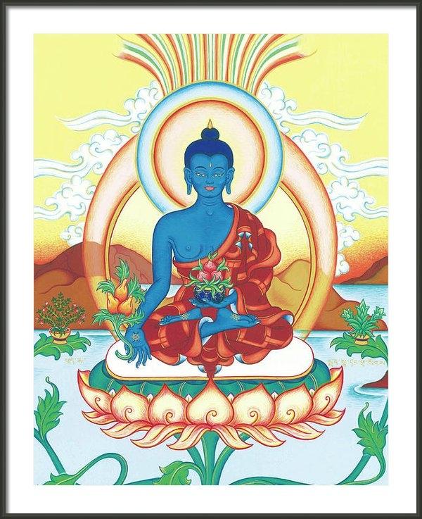 Carmen Mensink - Medicine Buddha Print