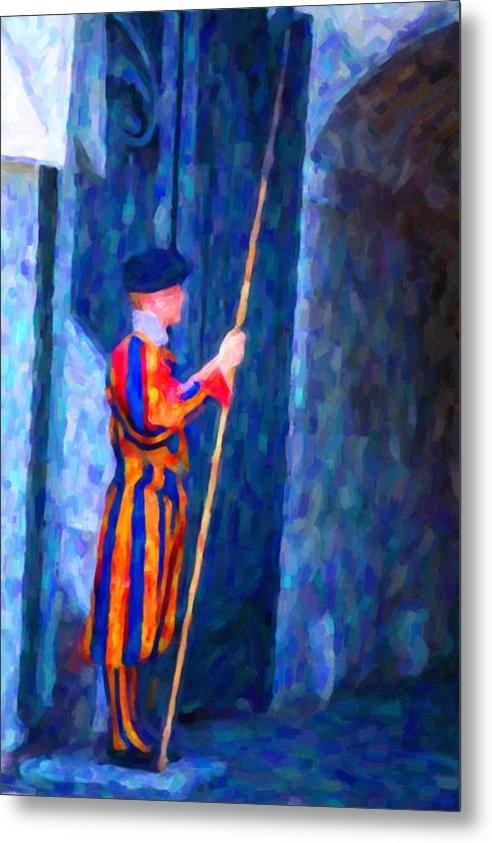 Hakon Soreide - Vatican Swiss Guard Print