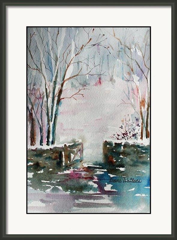 Diane Wallace - Winter Walk Print