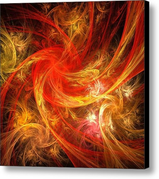 Oni H - Firestorm Print