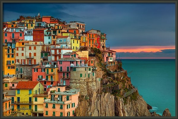 Peter Stewart - Home By The Sea Print