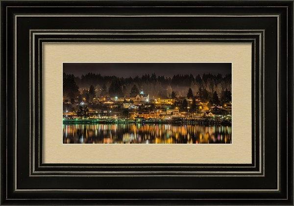 Wally Hampton - Poulsbo Waterfront 5 Print