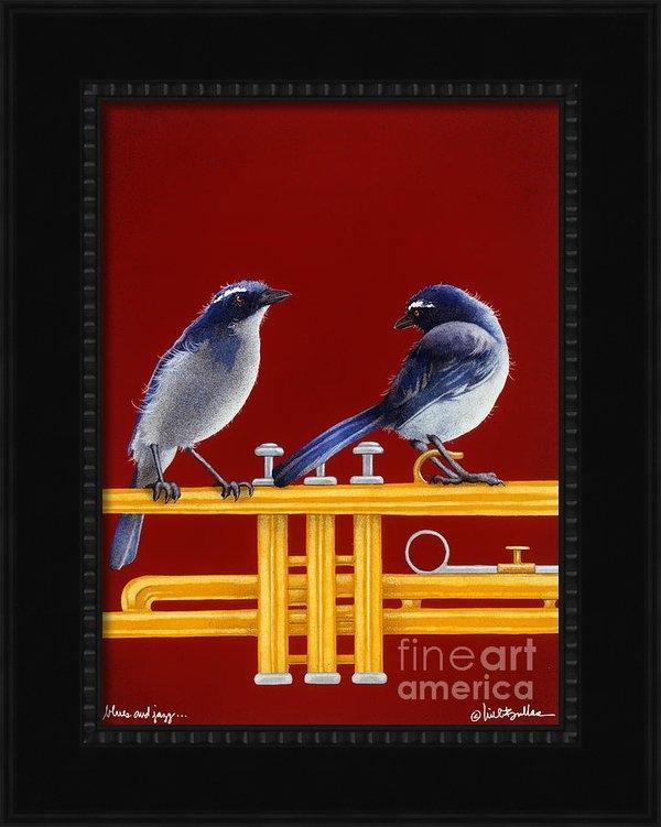 Will Bullas - blues and Jazz... Print