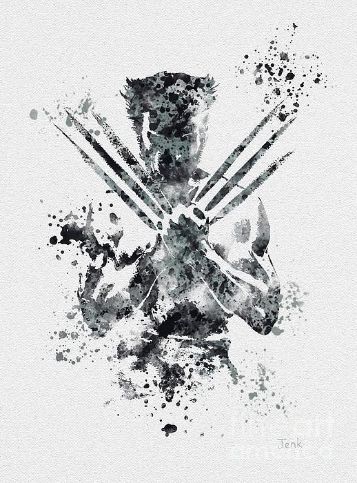 Rebecca Jenkins - Wolverine Print
