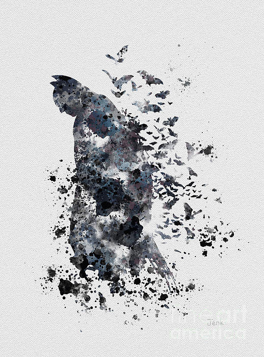 Rebecca Jenkins - The Dark Knight Print