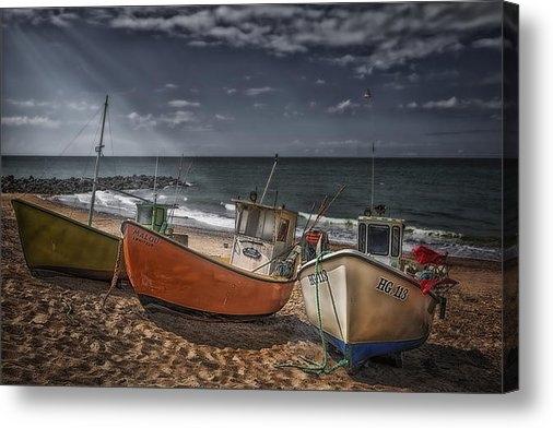 Erik Brede - Stranded Boats Print