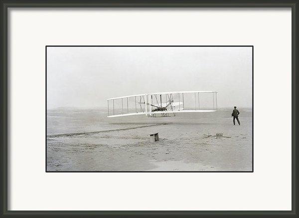 Daniel Hagerman - First Flight Captured On ... Print