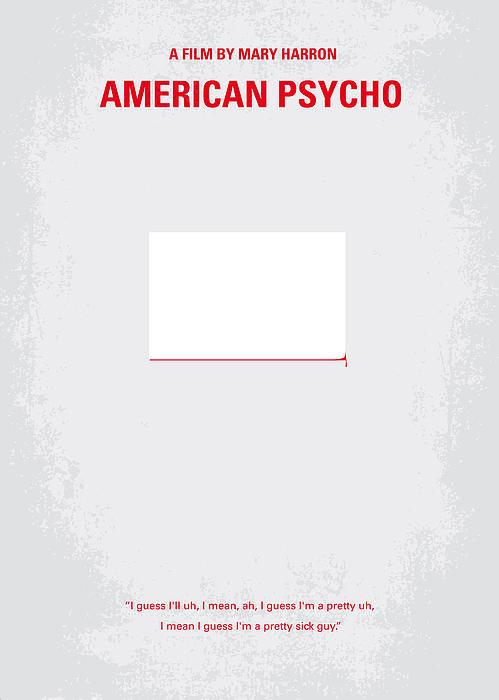 Chungkong Art - No005 My American Psyhco ... Print