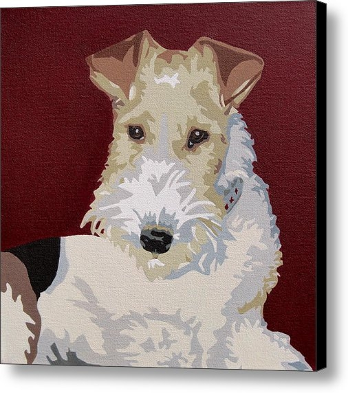 Slade Roberts - Wirehaired Fox Terrier Print