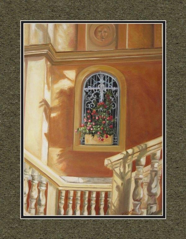 Roberta Rotunda - The Window Box Print