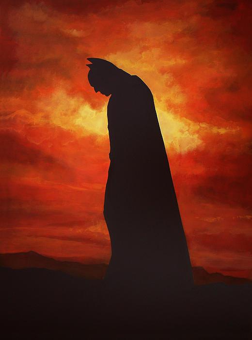 Paul  Meijering - Batman  Print