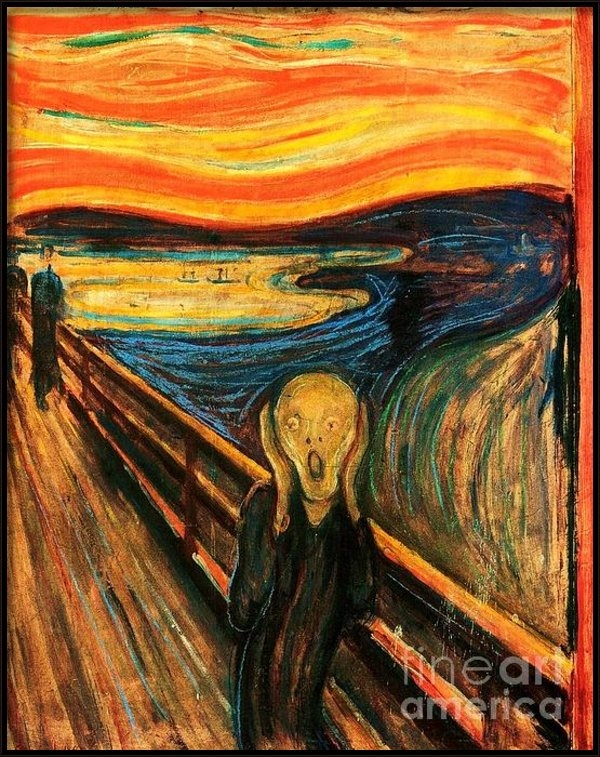 Pg Reproductions - The Scream Print