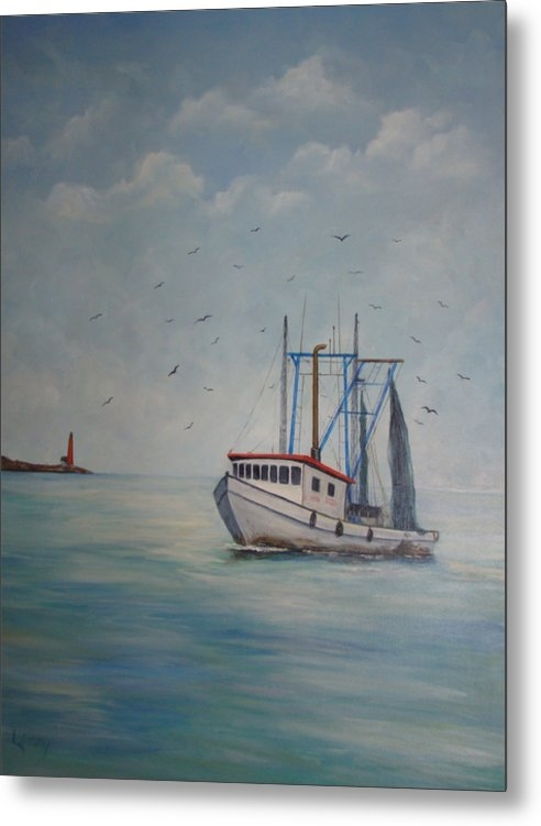 Carolyn Speer - Shrimp Boat Print