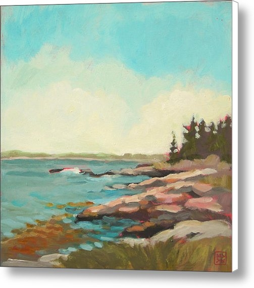 Mary Brooking - Kresge Point Print