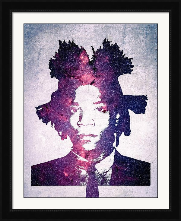 Adam Wood - Basquiat  Print