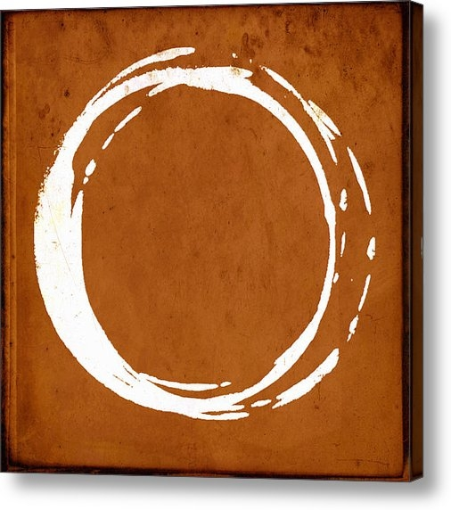 Julie Niemela - Enso No. 107 Orange Print